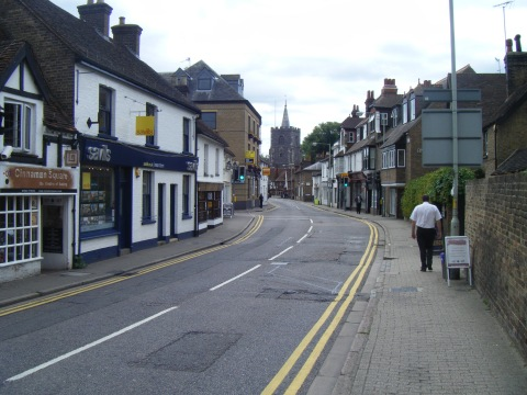 Church Street, Rickmansworth contains within it a wide variety of retail and other functions